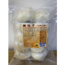 【錦馨】素包子-三杯口味90g*10入(全素)